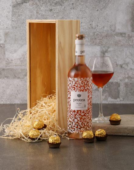 birthday Protea and Ferrero Rocher Gift Box