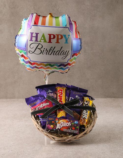 birthday Cadbury Chocolate Birthday Basket