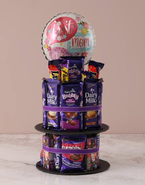 mothers-day Best Mom Cadbury Chocolate Cake