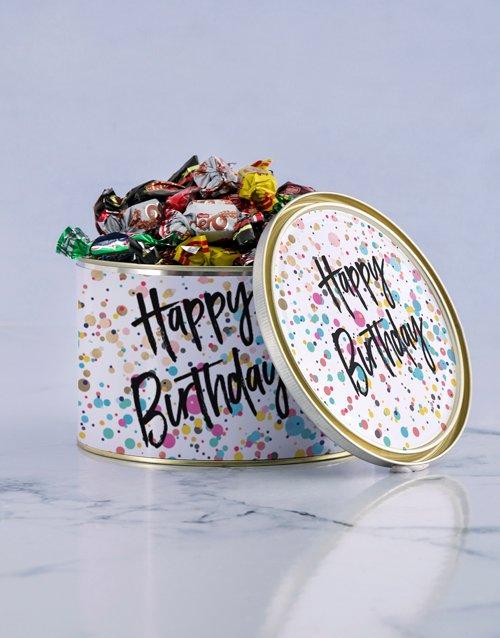 birthday Happy Birthday Treat Tin