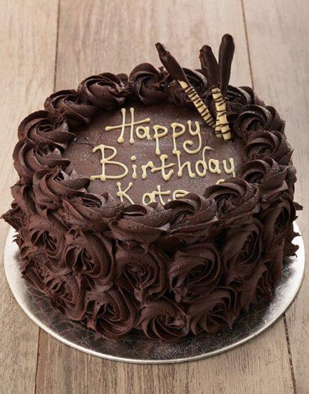 cakes Chocolate Rose Cake