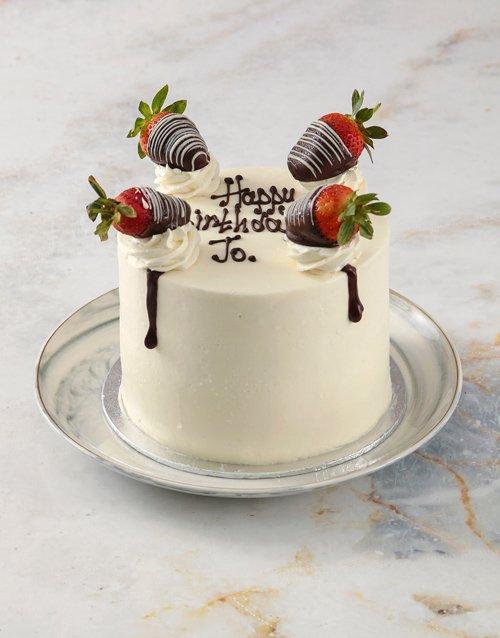 cakes Strawberries and Cream Cake