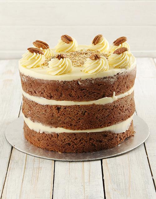 cakes Carrot Naked Cake 20cm