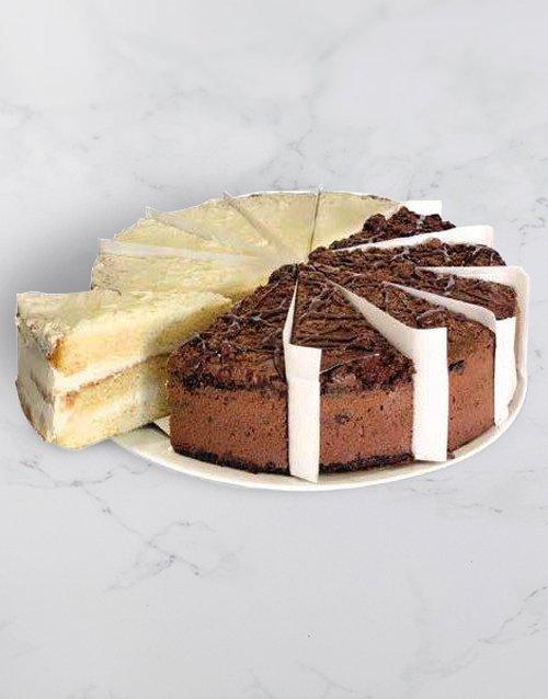 fathers-day Chateau Gateaux Vanilla and Choc Variety Cake