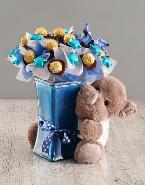 baby Chocolate Rhino Bouquet