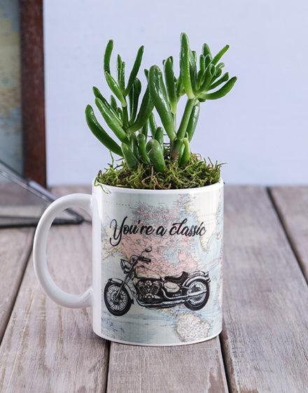 fathers-day Classic Succulent Mug