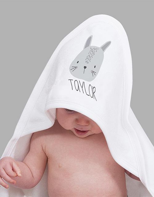 baby Personalised Bunny Baby Gift Hamper