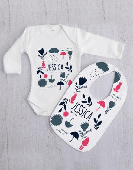 baby Personalised Rainy Day Gift Set