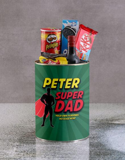 fathers-day Personalised Superhero Father Bro Bucket