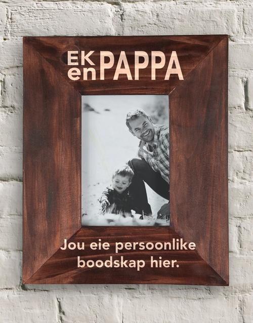 fathers-day Personalised Ek En Pappa Frame