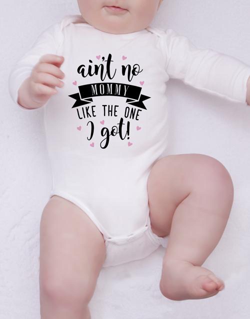 baby Personalised One I Got Onesie