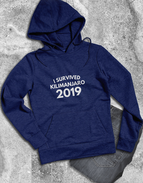 fathers-day Personalised Survivor Hoodie