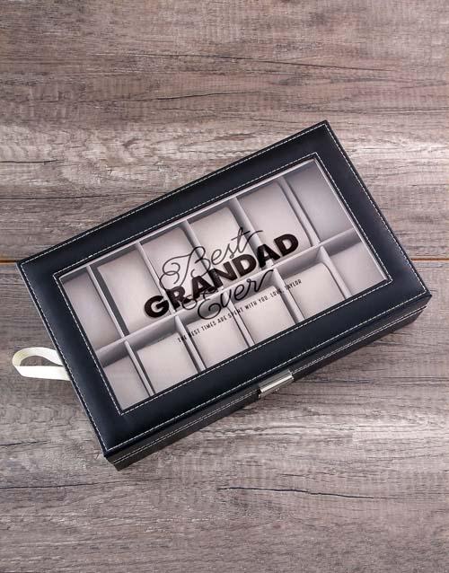 fathers-day Personalised Grandad Watch Box
