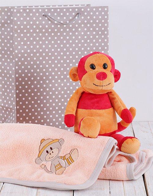 baby Monkey ing Around Gift Set
