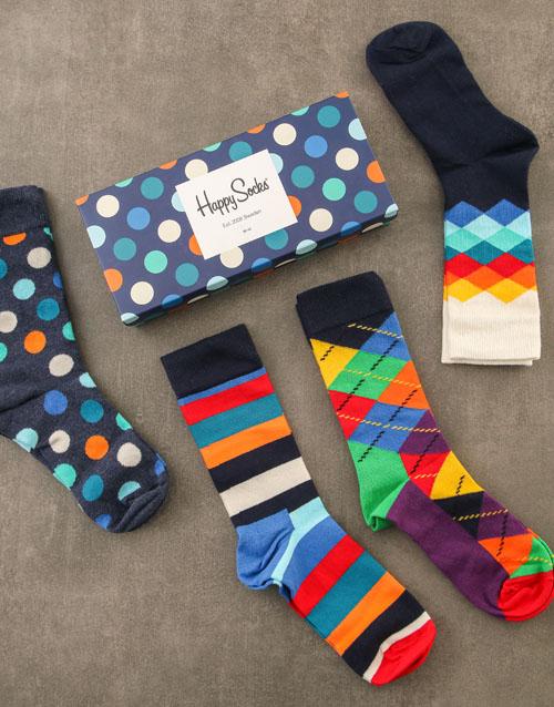 fathers-day Happy Socks Polka Dots Gift Set