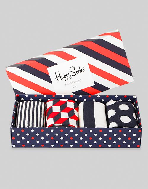 fathers-day Happy Socks Big Dot Gift Set