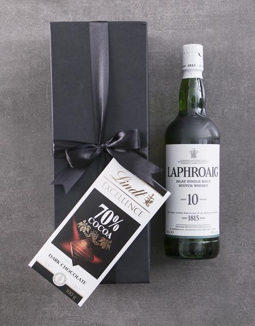 fathers-day Black Box of Laphroaig 10YR