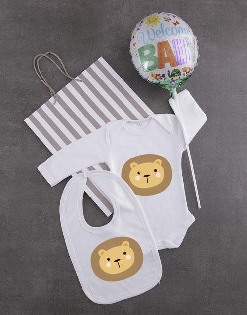 baby Little Lion Gift Set