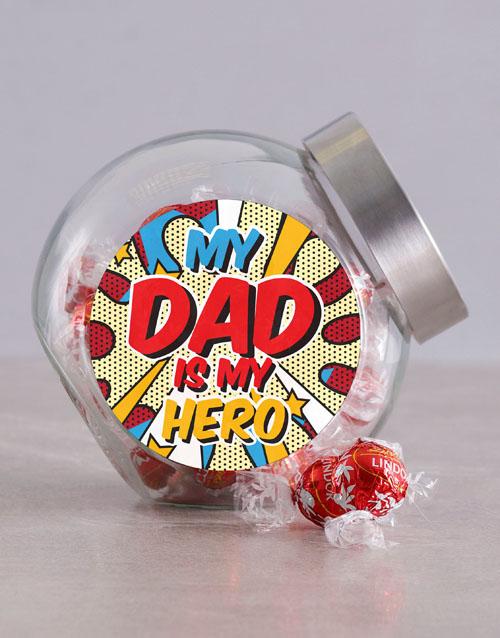 fathers-day Superhero Dad Candy Jar