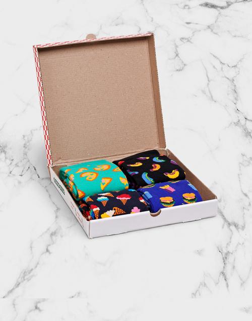 fathers-day Happy Socks Junk Food Gift Box