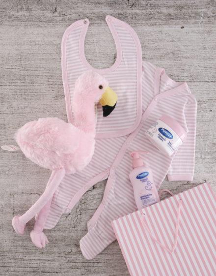 baby Flamingo Gift Set for Baby Girl