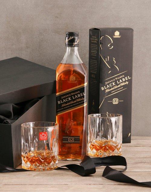 fathers-day Johnnie Walker Black Gift Set