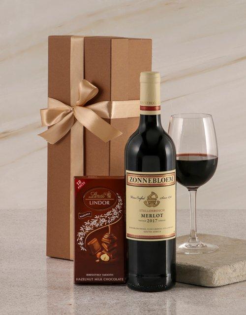 fathers-day Zonnebloem Merlot Duo Gift Box