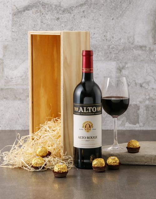 fathers-day Nederberg and Ferrero Rocher Gift Box