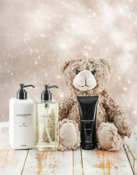 baby Charlotte Rhys St Thomas Luxurious Essentials