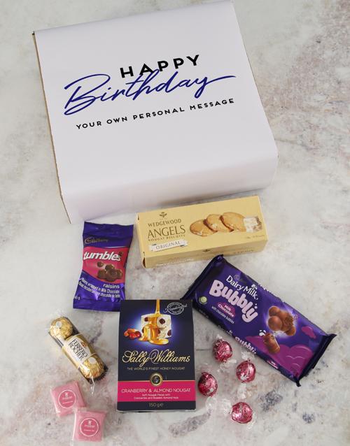 birthday Personalised Birthday Gourmet Gift
