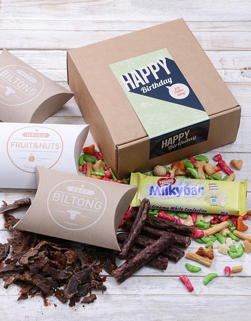 birthday Lekker Ding Biltong Box