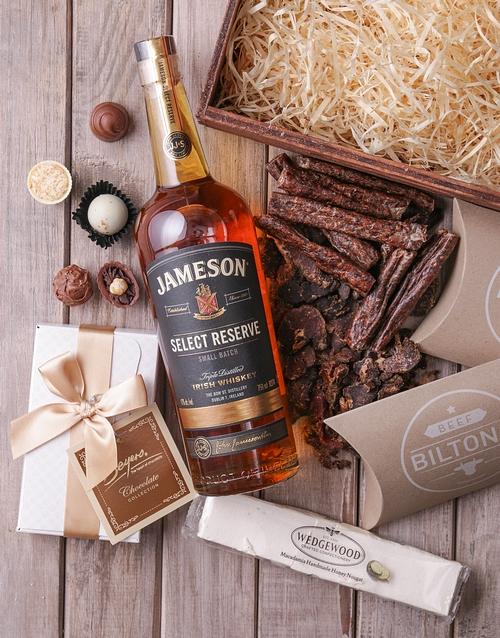 birthday Jameson Select Reserve Gourmet Crate