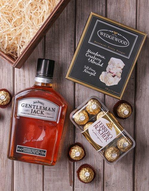 birthday Gentleman Jack Gourmet Crate