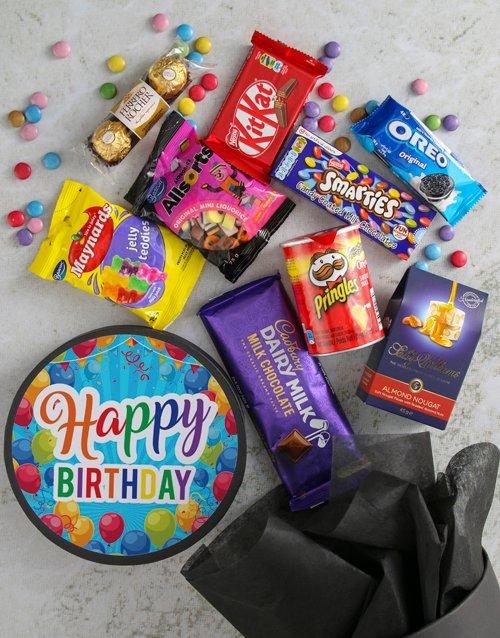 birthday Happy Birthday Sweet Hat Box