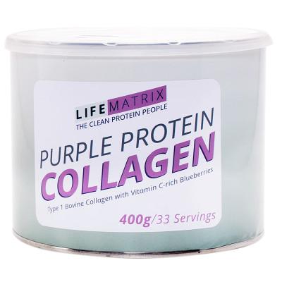 Lifematrix Purple Protein Collagen Powder