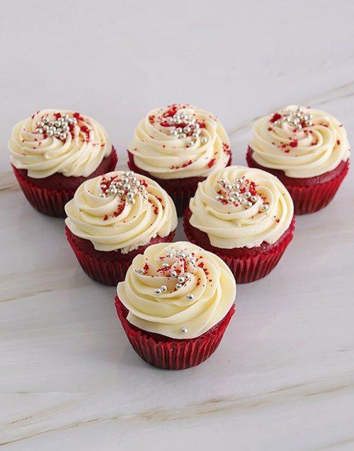birthday Delectable Red Velvet Cupcakes