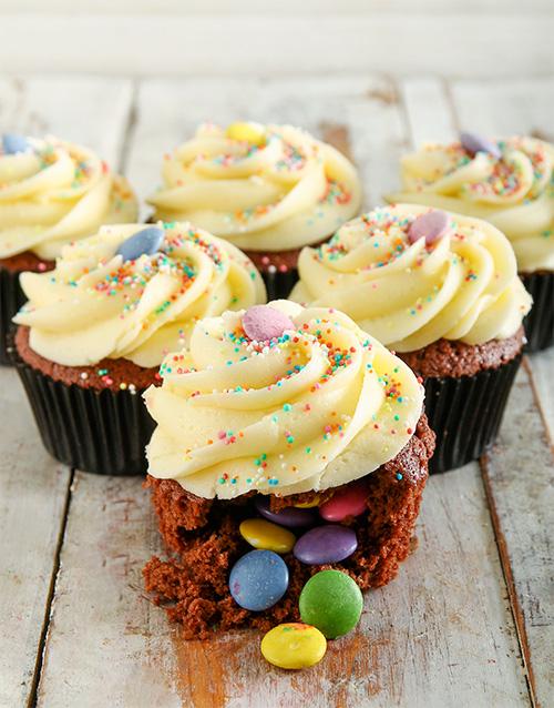 birthday Birthday Cake Pinata Cupcakes
