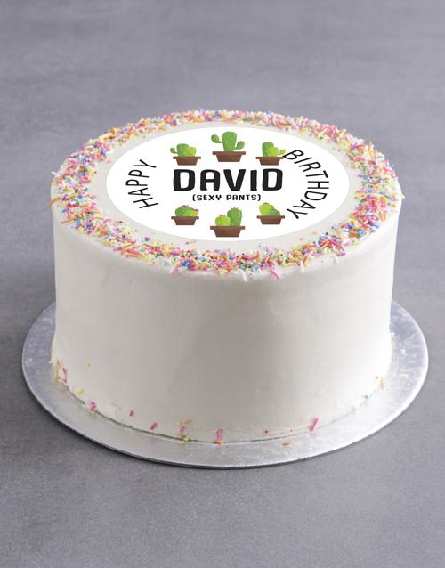 birthday Personalised Sexy Birthday Cake