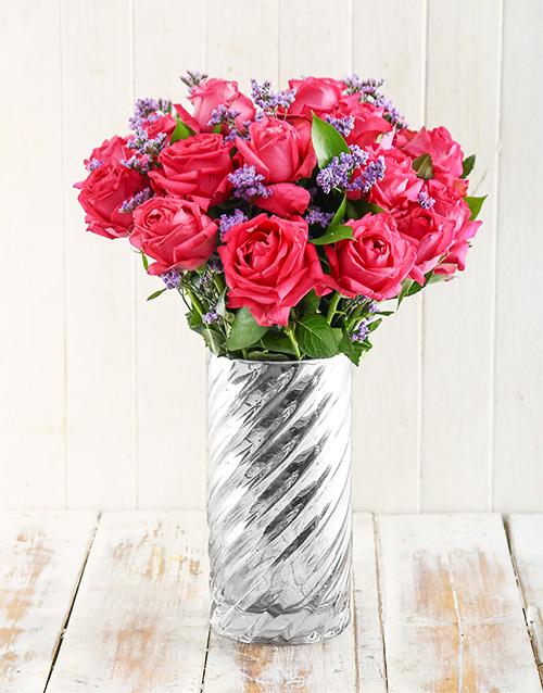 roses Sweet as Sugar Arrangement