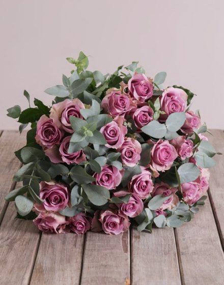 roses Lilac Passion Bouquet