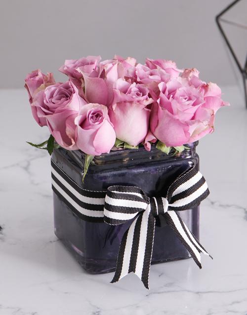 roses Pastel Purple Arrangement