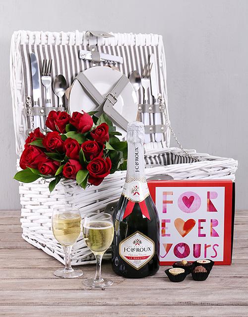 roses Basket full of Love