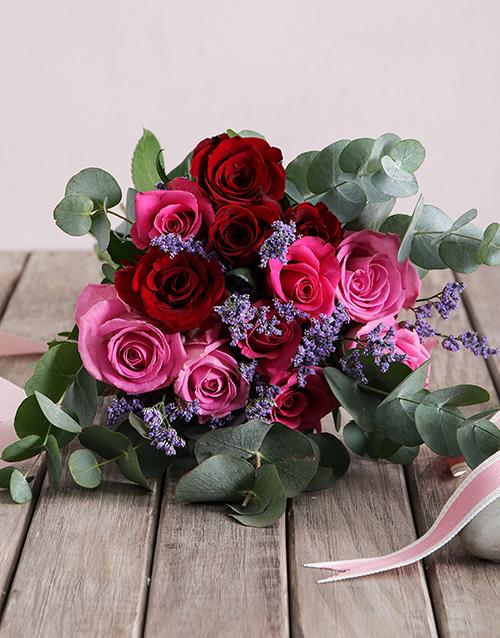 roses Shades of Pinks Rose Arrangement