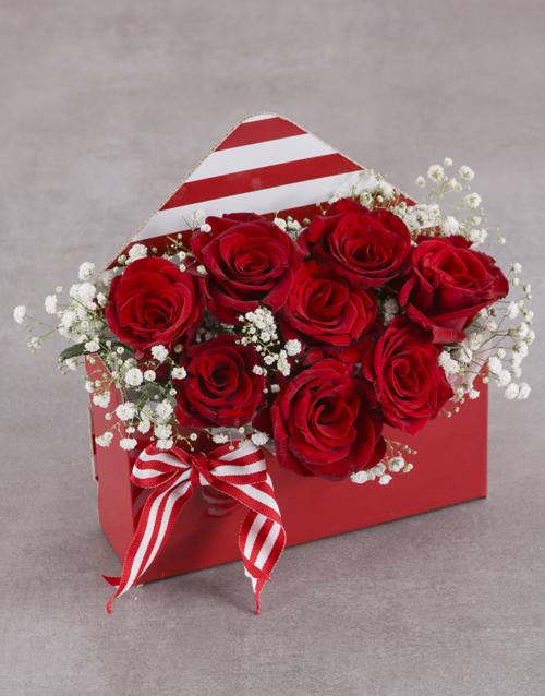 roses Envelope of Love
