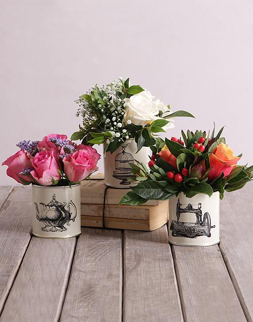 roses Roses in Classic Tins