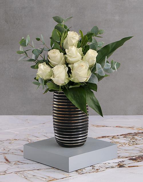 roses White Rose Blossoms