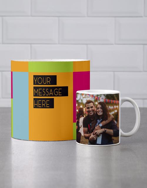 birthday Personalised Colourful Mug Tube