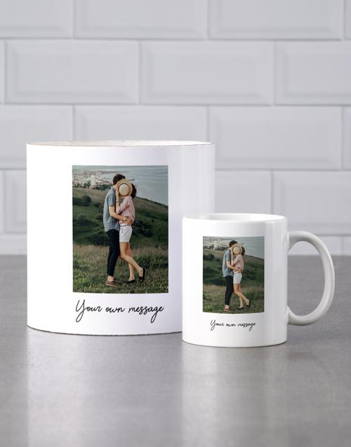 birthday Personalised Photograph Mug Tube