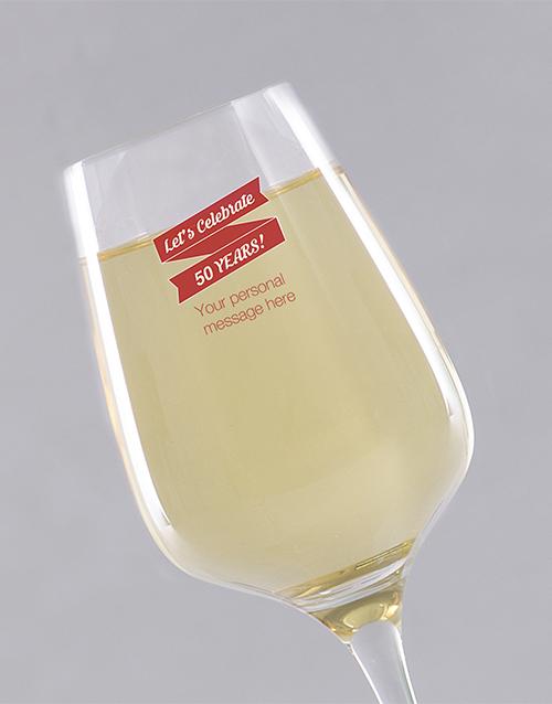 birthday Personalised Birthday Lets Celebrate Wine Glass