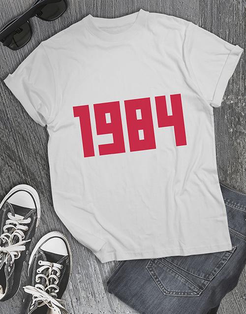 birthday Personalised Date T Shirt